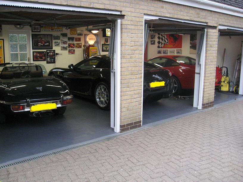 Garage floor tiles garage flooring garage floor covering for Dream floor