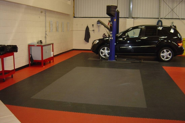 Garage flooring UK