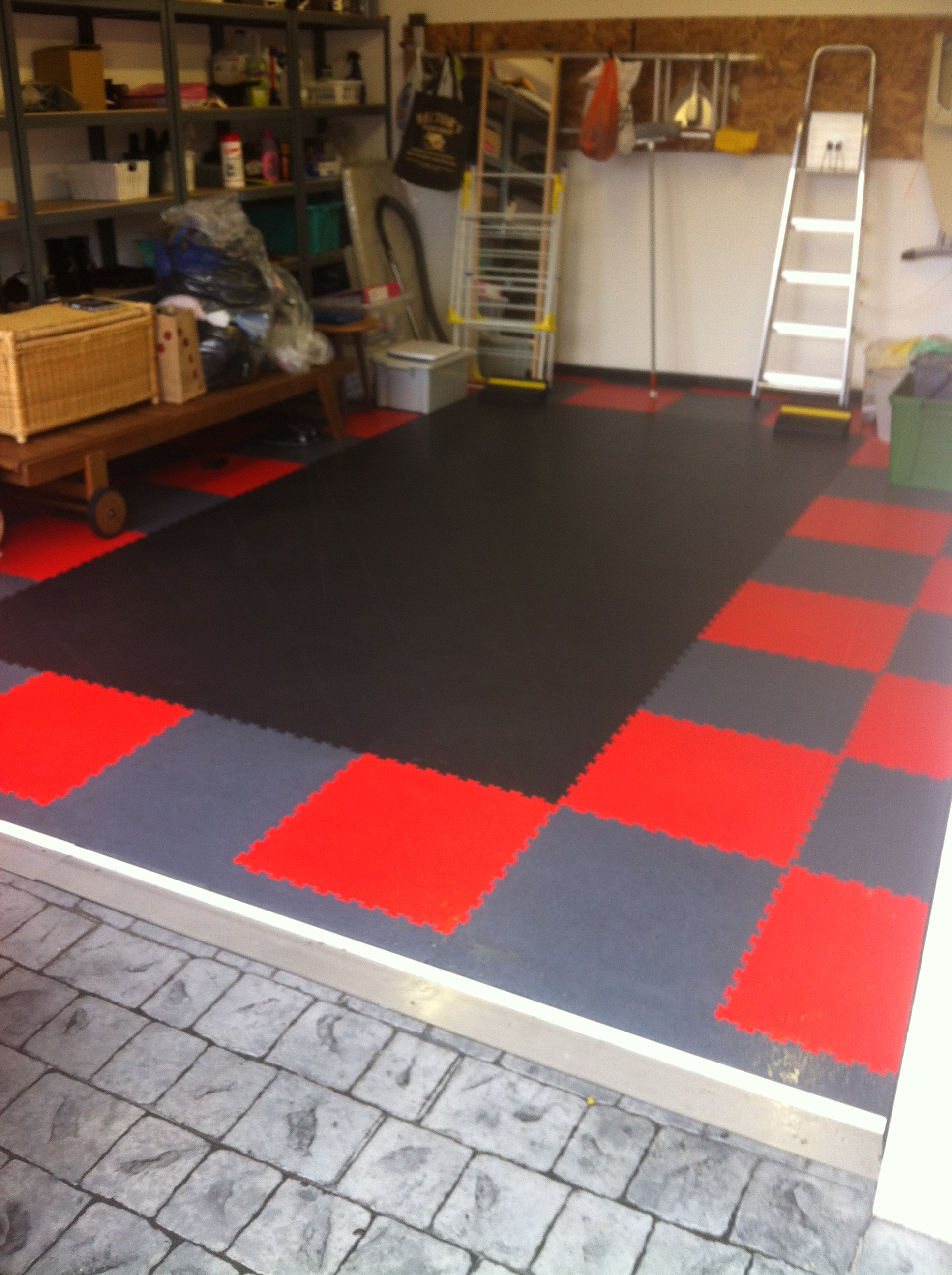 Interlocking Garage Floor Tiles UK