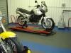 Automotive workshop floor tiles