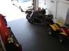 Motorcycle garage flooring